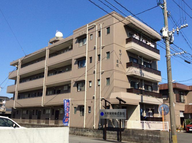 【賃貸】宮崎市高洲町 中古マンション 33,000円 1K エアコン P1台込み