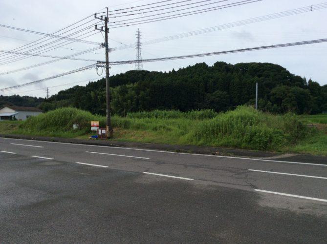 県道を東へ行くと国道10号線バイパスがあります