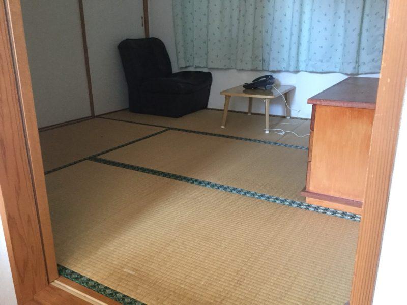 4.5畳の和室の休憩室