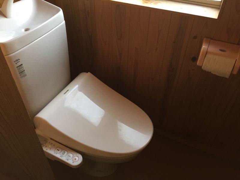 トイレはウォシュレット(間取)